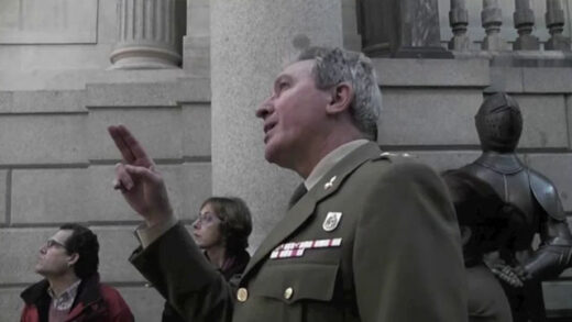 Mi Subteniente. Cortometraje documental español de Álvaro Ramos