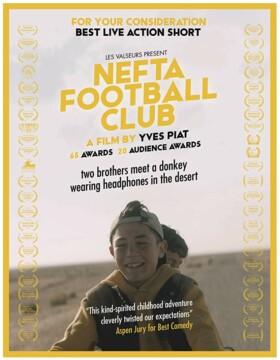 Nefta Football Club corto cartel poster