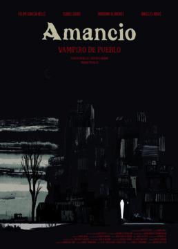 Amancio vampiro de pueblo corto cartel poster