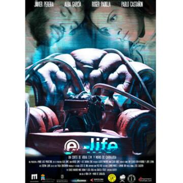 E-life corto cartel poster