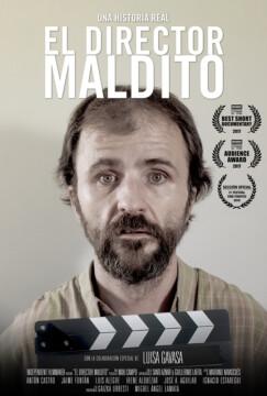 El director maldito corto cartel poster