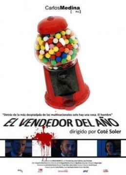 El vendedor del año corto cartel poster