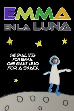 Emma en la luna corto cartel poster