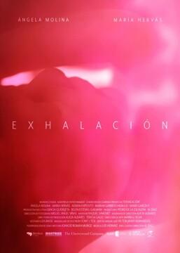 Exhalación corto cartel poster