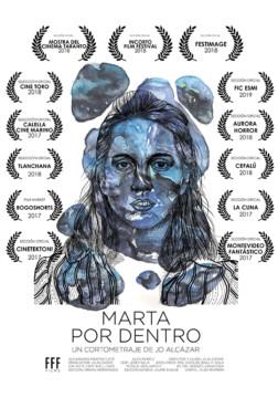 Marta por dentro corto cartel poster