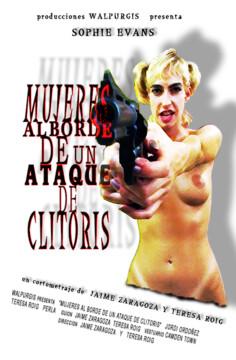 Mujeres al borde de un ataque de clítoris corto cartel poster