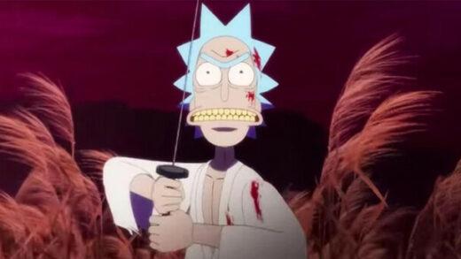 Rick and Morty: Samurai & Shogun. Cortometraje de animación