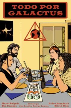 Todo por Galactus corto cartel poster