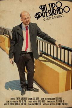 Un tipo apresurado corto cartel poster