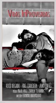 Vidas improvisadas corto cartel poster