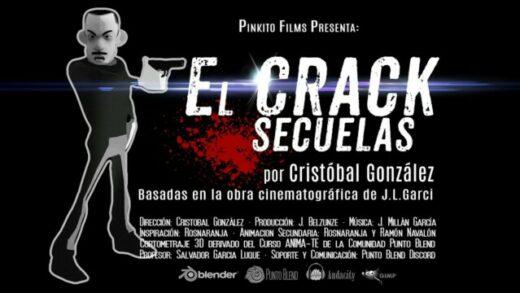 El Crack, secuelas. Cortometraje de animación de Cristóbal González