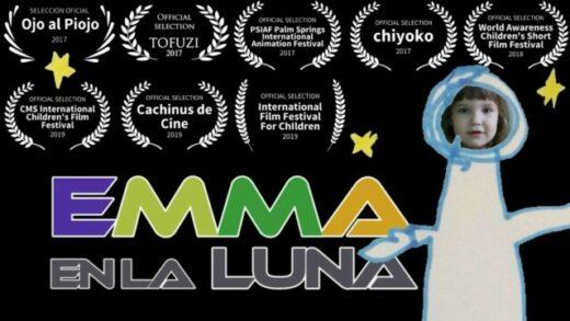 Emma en la Luna. Cortometraje familiar de ciencia ficción Alberto Mazarro