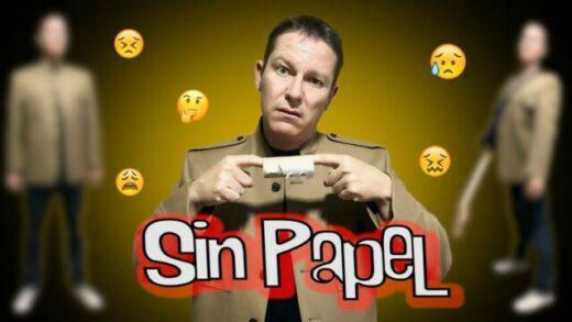 """Sin Papel - Alberto Mazarro / (Parodia de """"No Reply""""). Videoclip"""
