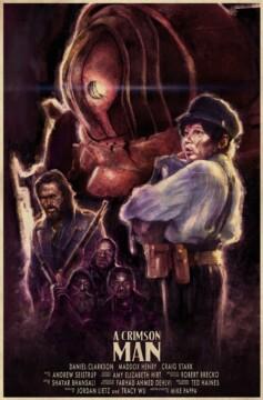A crimson man corto cartel poster