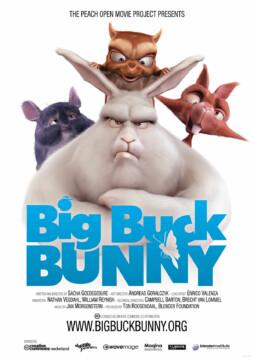 Big buck bunny corto cartel poster