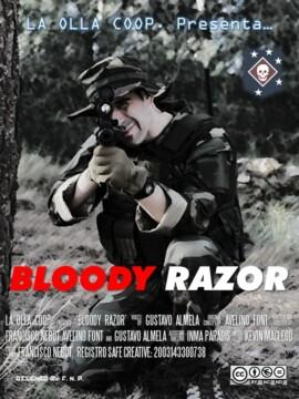 Bloody Razor corto cartel poster