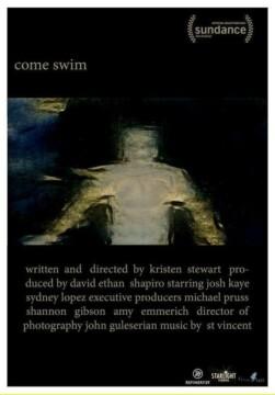 Come swim corto cartel poster