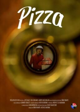 Pizza corto cartel poster