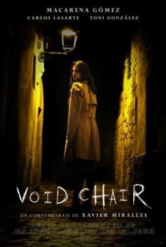 Void Chair corto cartel poster