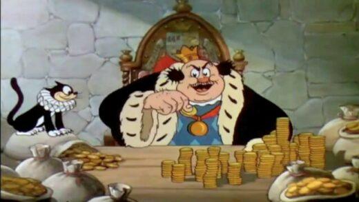 Disney Silly Symphonies 50: El toque de oro. Cortometraje de animación