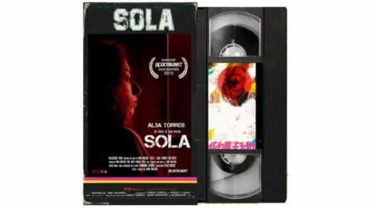 Sola. Cortometraje español y drama de acción y zombies de Iván Mulero