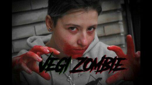 Vegi Zombie. Cortometraje y comeda de zombies de Silvia R. Galindo
