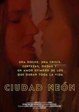 Ciudad Neon corto cartel poster