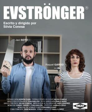 Evströnger corto cartel poster