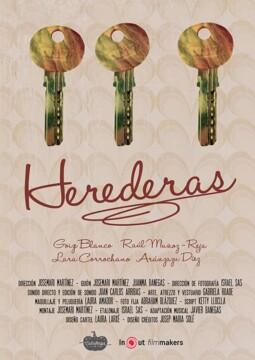 Herederas corto cartel poster