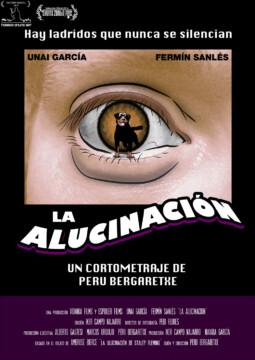 La alucinacion corto cartel poster