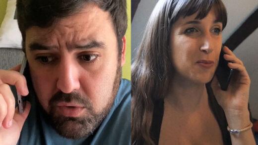Llamada inesperada. Cortometraje y comedia española