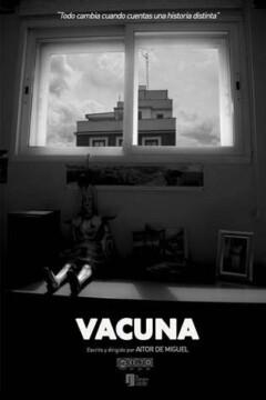 Vacuna corto cartel poster