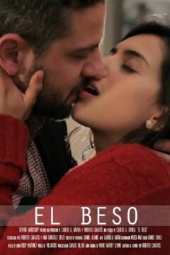 El beso corto cartel poster