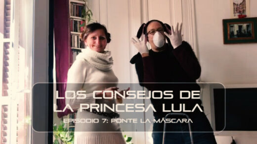 """Los consejos de la Princesa Lula y Churraska para el coronavirus. Episodio 7 - """"Ponte la mascarilla"""""""