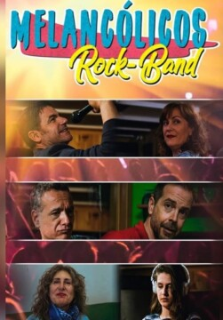 Melancolicos Rock Band corto cartel poster