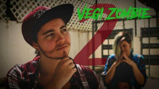 Vegi Zombie 2. Cortometraje y comeda de zombies de Silvia Rodríguez