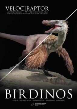 Birdinos corto cartel poster