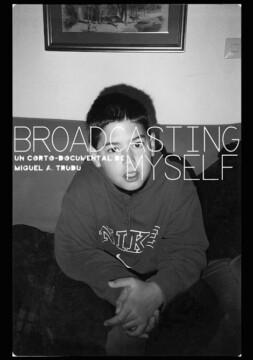Broadcasting Myself corto cartel poster