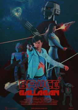 Bruce Gallagan corto cartel poster