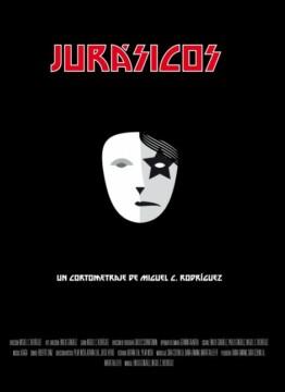 Jurasicos corto cartel poster