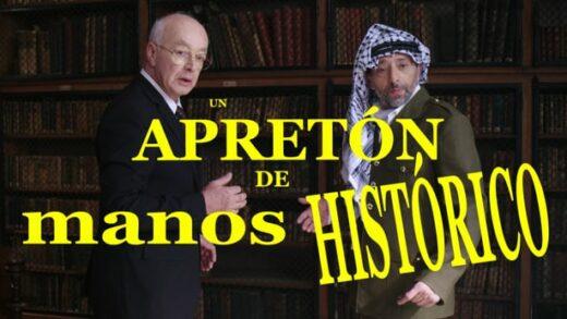Un apretón de manos histórico. Cortometraje francés de Aurélien Laplace