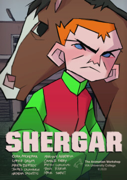 Shergar corto cartel poster