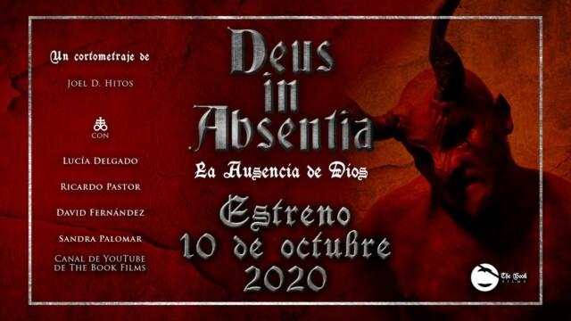 Deus in Absentia, el último cortometraje de Joel D. Hitos, se estrenará online el 10 de octubre