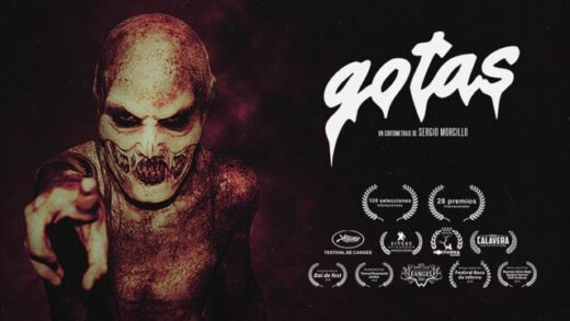 Gotas. Cortometraje español y thriller de terror de Sergio Morcillo