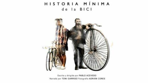Historia mínima de la bici. Cortometraje español de Pablo Acevedo