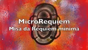 MicroRequiem (Misa da Requiem mínima). Cortometraje de animación