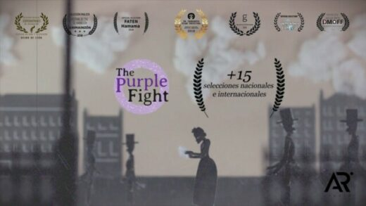 The Purple Fight. Cortometraje de animación de Alberto Rey García