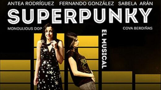 SUPERPUNKY, EL MUSICAL. Corto y comedia musical de Pablo Cacheda