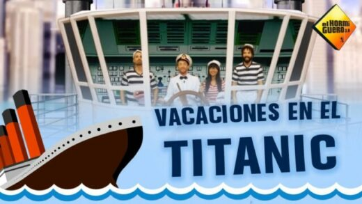 El Hormiguero: Vacaciones en el Titanic. Cortometraje y comedia española