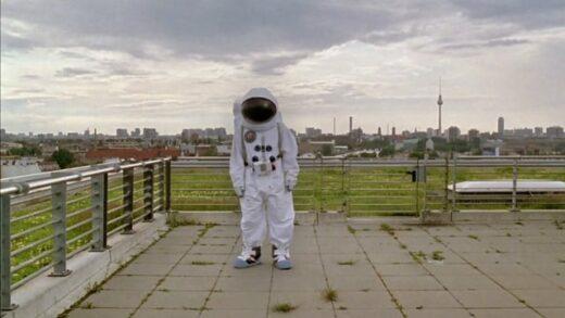 El astronauta en el tejado. Cortometraje alemán de Sergi Portabella